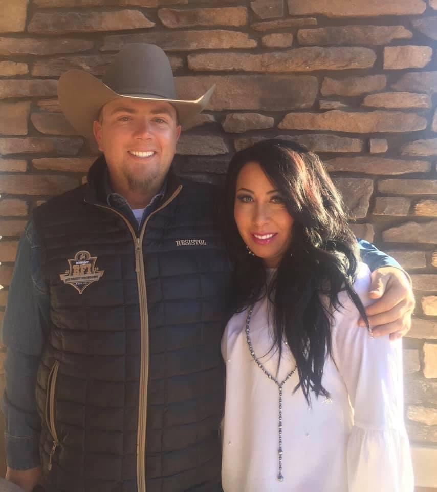 Owners of Elite Equine Spa….Jesse & Sierra