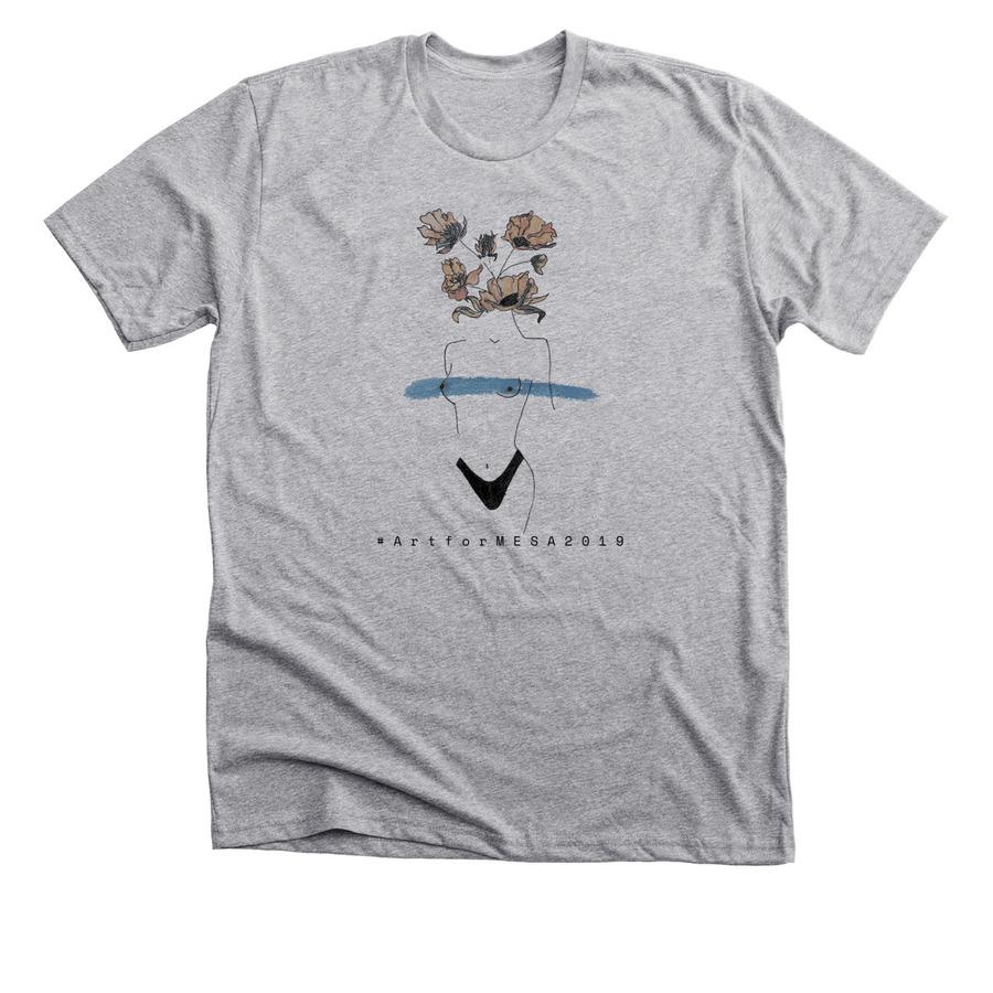 Buy a t-shirt to support the event at  www.bonfire.com/artformesa2019