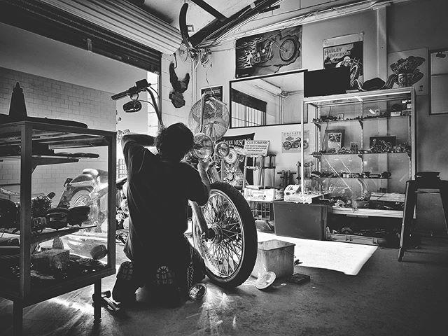 Preparing for phase two of Ducati Scrambler begins @spreadcheesefabrications #ducati #ducatiscrambler #harleydavidson