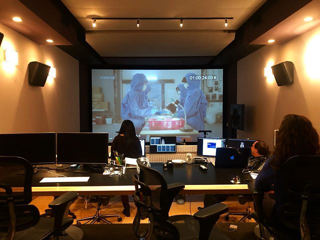 Final sound mix @formosagroup today, in Charlie Chaplin's old screening room at the former United Artists studios NO BIG DEAL 🤷🏻♀️🙇🏻♀️😭