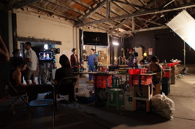 A peek inside the American Bodies Institute and Manufactory. Production design (and photo!) by Anna Lian Tes. ⠀⠀⠀⠀⠀⠀⠀⠀⠀ .⠀⠀⠀⠀⠀⠀⠀⠀⠀ .⠀⠀⠀⠀⠀⠀⠀⠀⠀ .⠀⠀⠀⠀⠀⠀⠀⠀⠀ .⠀⠀⠀⠀⠀⠀⠀⠀⠀ .⠀⠀⠀⠀⠀⠀⠀⠀⠀ #independentfilm #filmindependent #shortfilm #behindthescenes #setlife #femalefilmmakers #indiefilm #asiansinfilm #womeninfilm #projectinvolve #shortfilmproduction #filmmaker #makingmovies #filmproduction #filmmaking #womenmakemovies