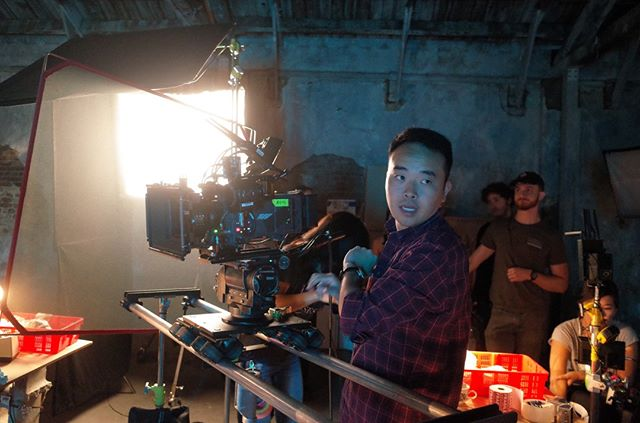 DP Kuni Ohi keeping his cool...Looking forward to our color session at @efilmhollywood this week!!! 💯💯