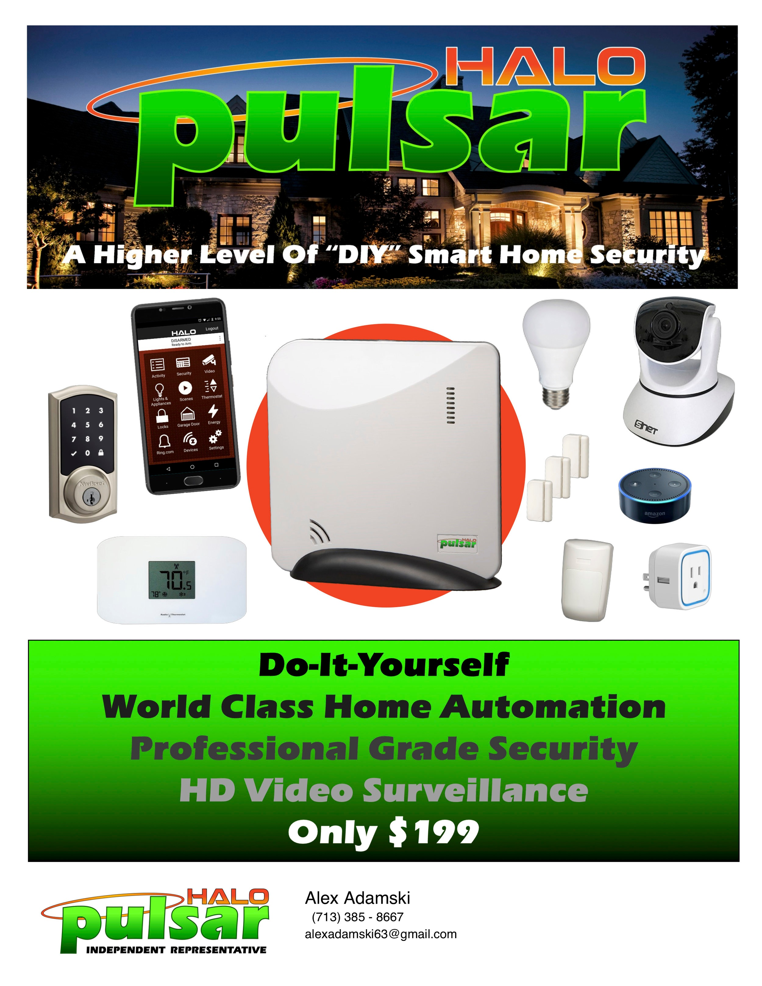 Full service home security -