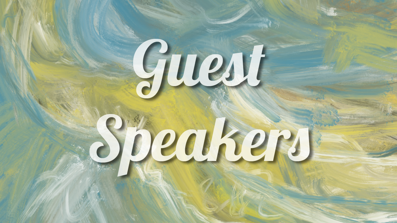 Guest Speakers - Sermons given at New Creation by guest speakers