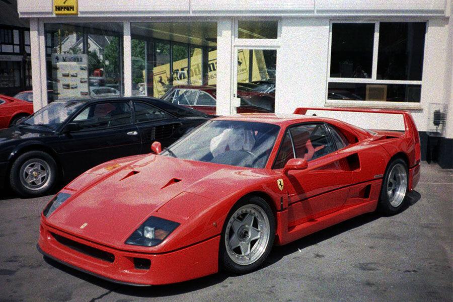 Vin Nick Mason S Ferrari F40 Chassis 78122 Supercar Nostalgia