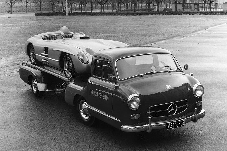 Guide Mercedes Benz Blue Wonder Supercar Nostalgia
