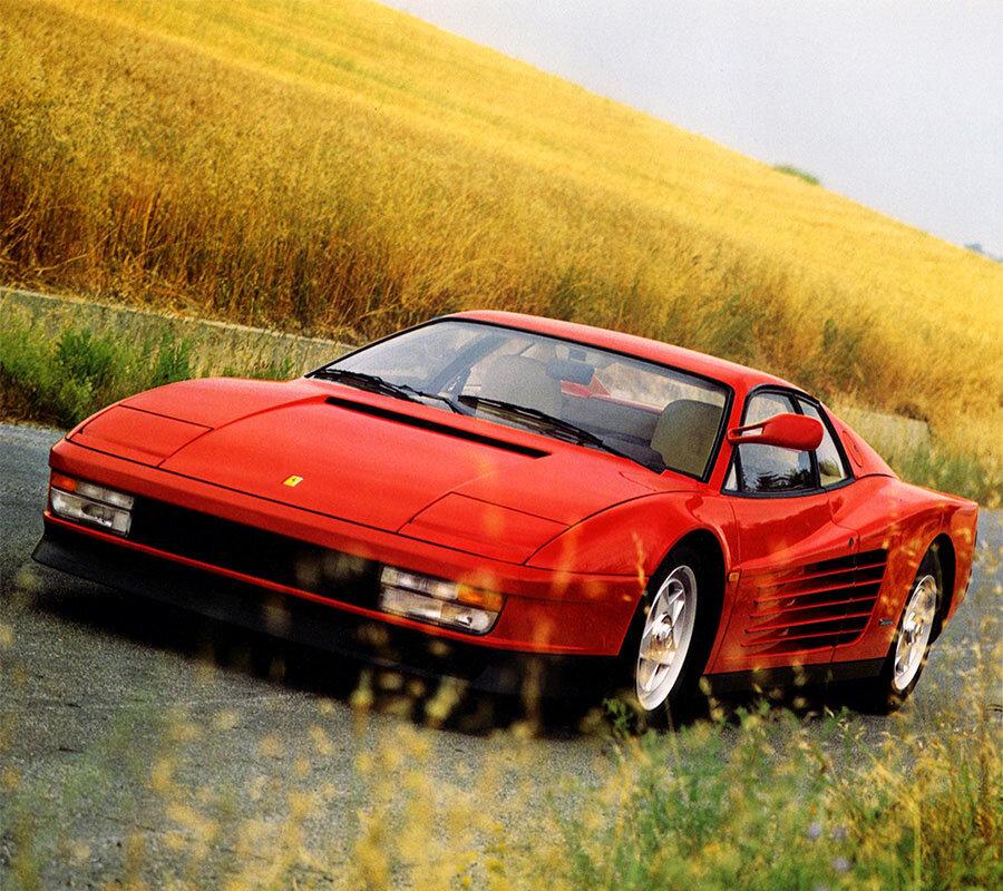 Guide Ferrari Testarossa Supercar Nostalgia