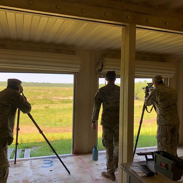 ShootNglow our at the Army Sniper school letting em abuse our Reactive Thermal Target!! They are lovin' em!! #nvisionoptics #pulsarthermalimaging
