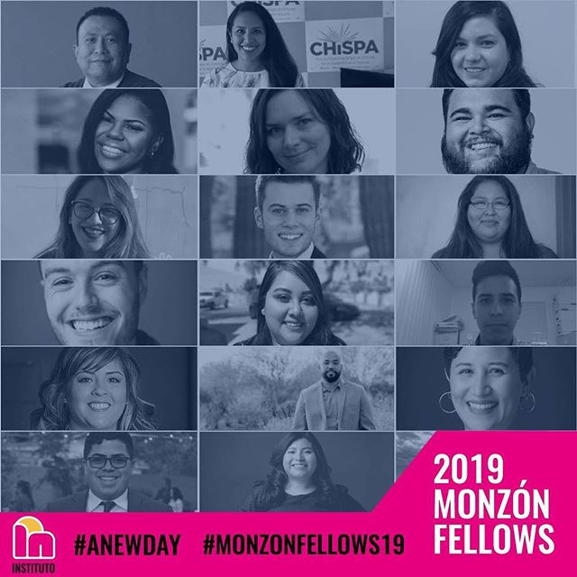 Join us in congratulating the very 1st Monzón Fellowship cohort!  We are extremely excited to get to work with and support them over the next several months!