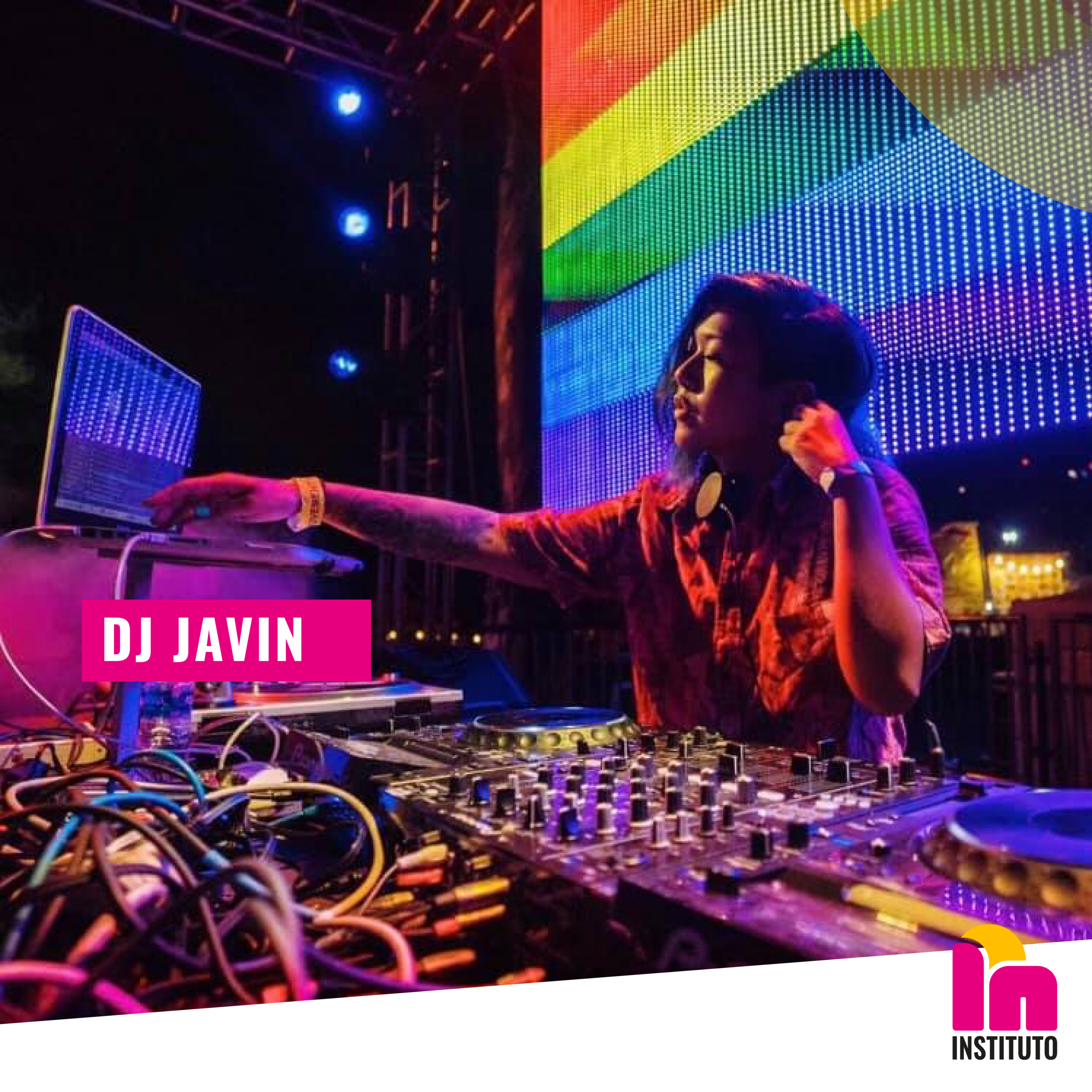 Sway to the rhythm of the beats DJ Javin will be spinning all evening.