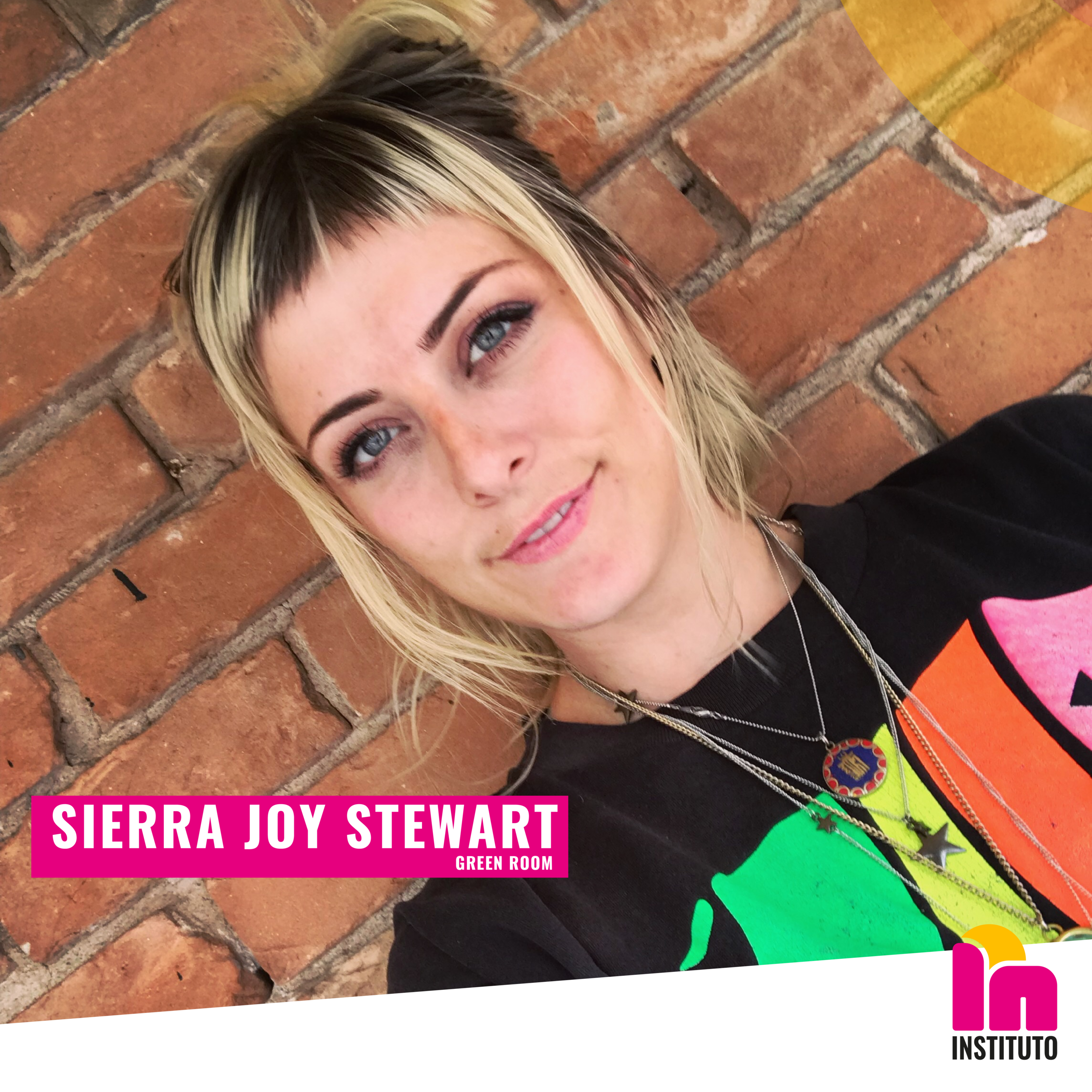 Have a sensory experience as you walk through Sierra Joy Stewart's art installation created specifically for Instituto's Launch.