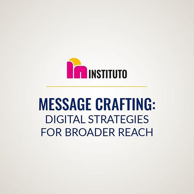 Don't miss our webinar tomorrow, where we'll be talking about crafting messages with more impact, how you can quickly and easily do some social listening, and testing your messages regardless of platform!  Register for free: bit.ly/msgcraft