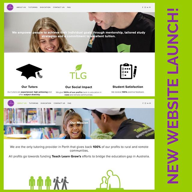 The TLG Tutoring Centre is super excited to announce the launch of our brand new website! 🤩 We've been working hard throughout the year to create a more accessible user experience for all our existing and potential clients. Check it out here (or follow the link in our bio!): https://www.tutoringcentre.teachlearngrow.org.au 🌱💜