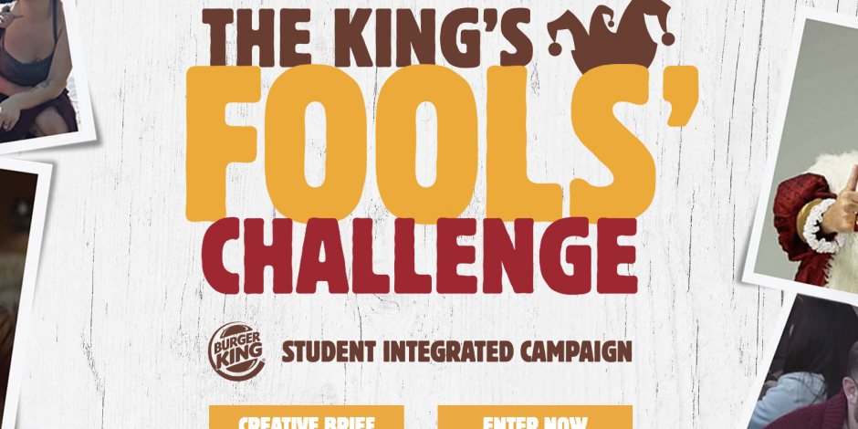 The King's Challenge | BURGER KING x CLIO AWARDS