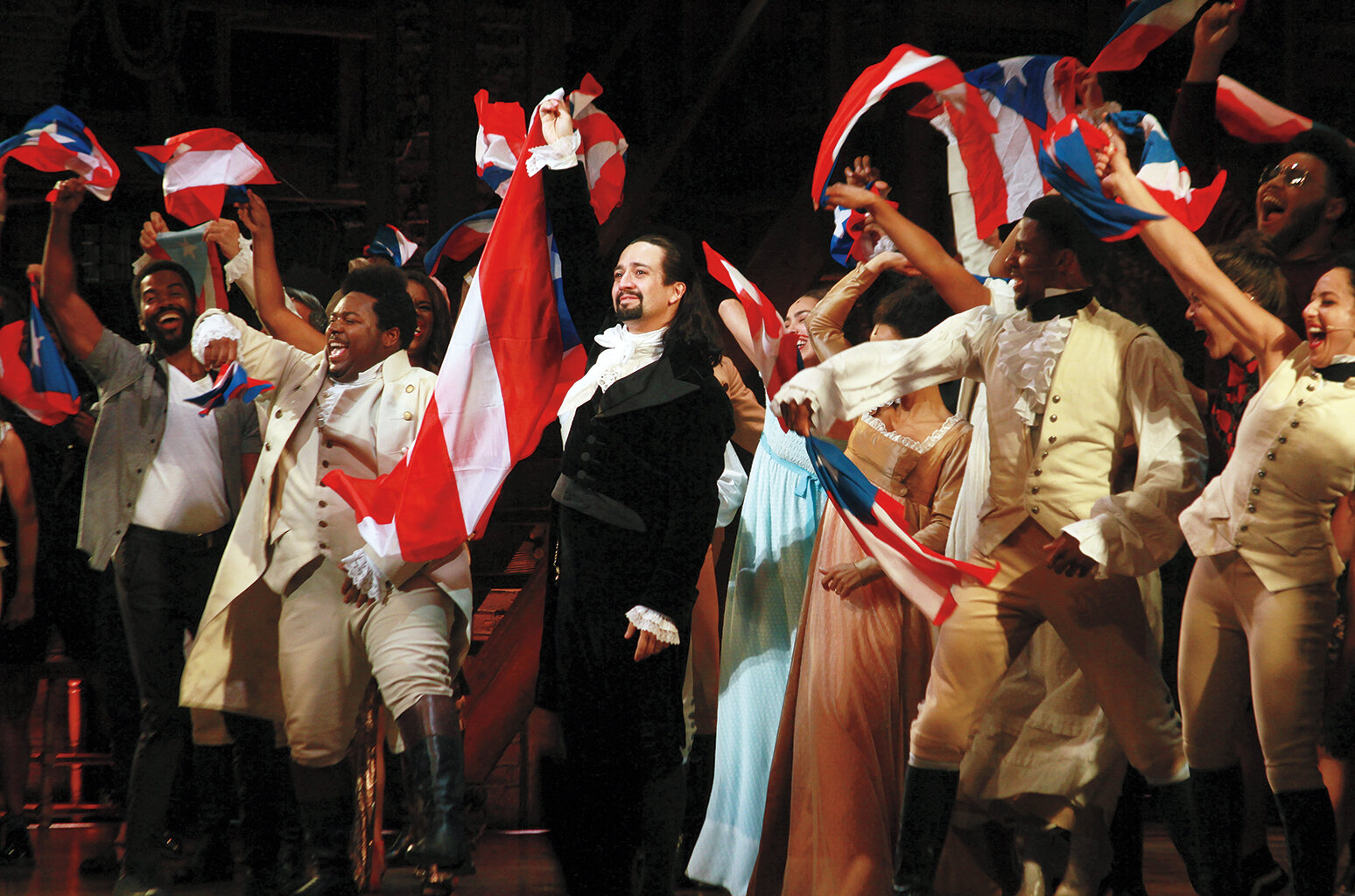 American Express earned a silver prize for its integrated campaign Hamilton Puerto Rico (music marketing), which launched a special Hamilton run in San Juan starring Lin-Manuel Miranda (pictured during the show's final night on Jan. 27).