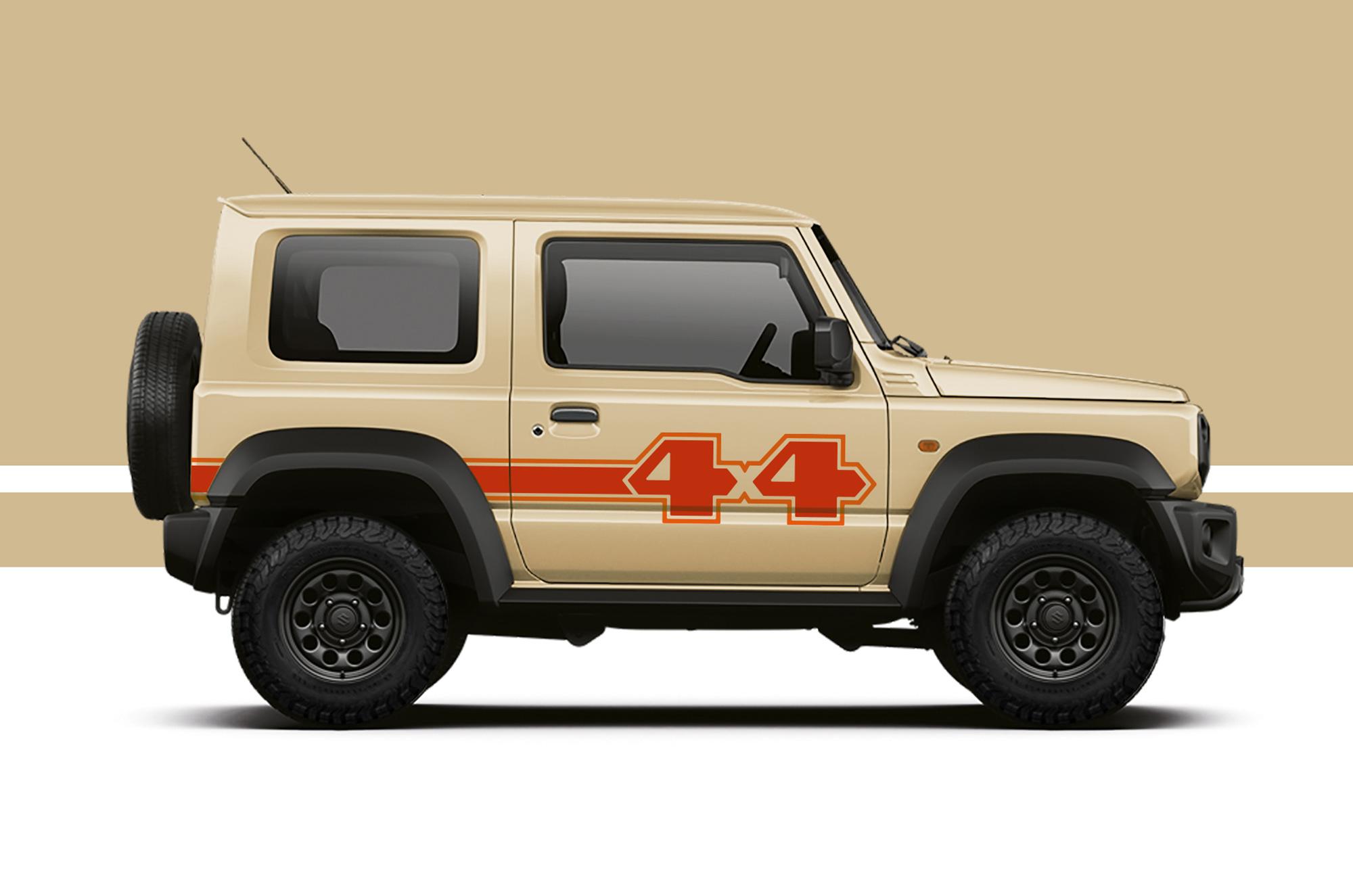 Jimny 'Datsun 4x4' Pick-up Inspired Livery