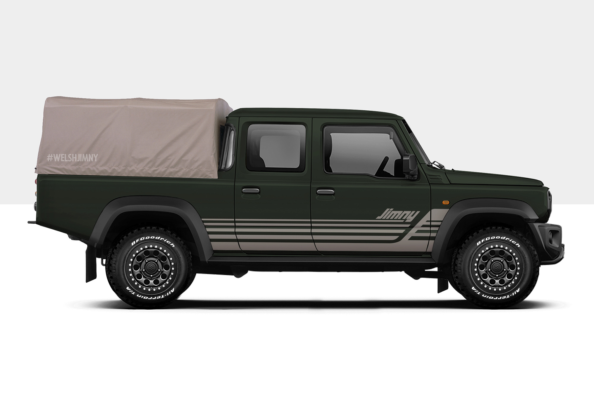 Jimny Double Cab Pick-up Concept