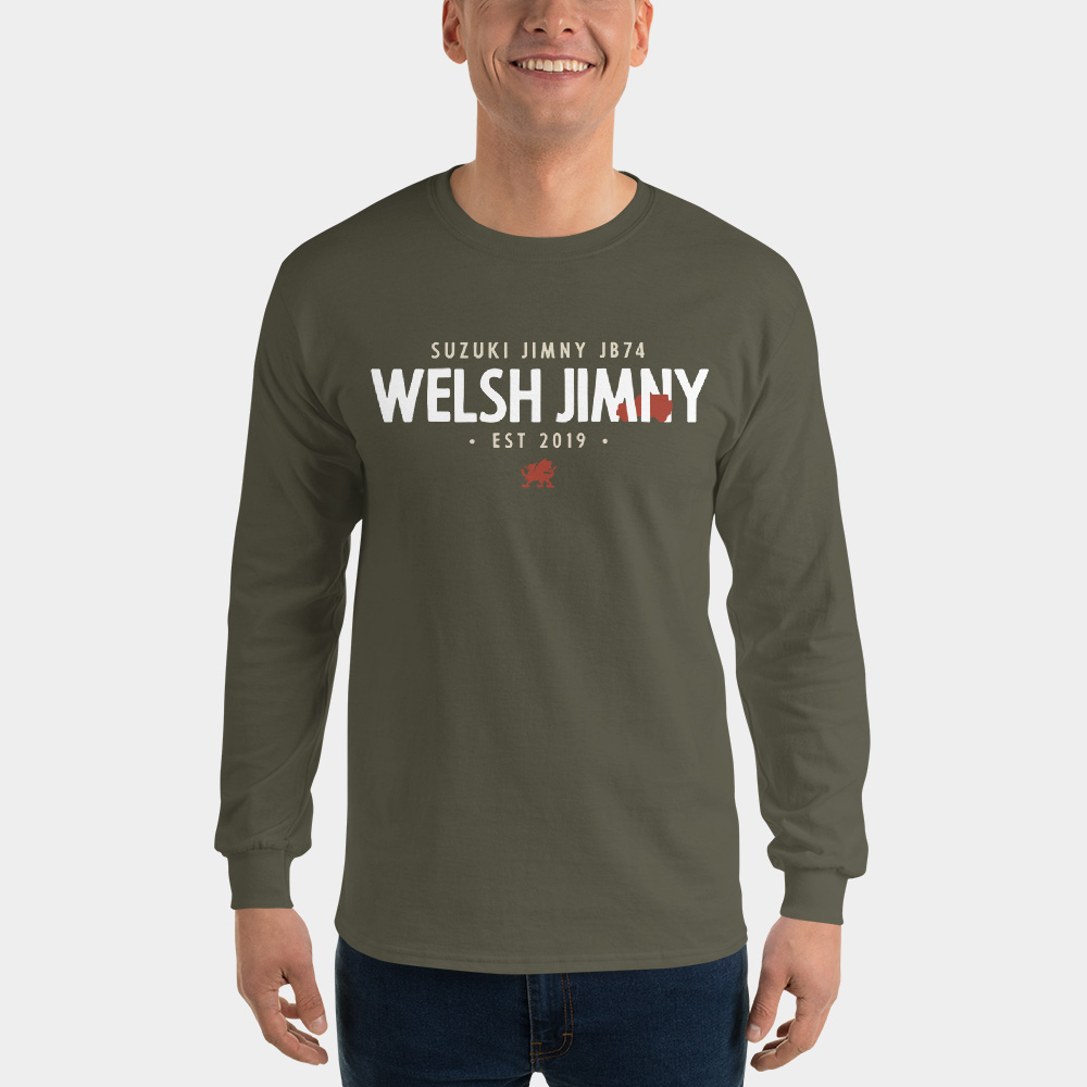 Welsh Jimny Long Sleeve Tee   From £19 + shipping  - (coming soon)