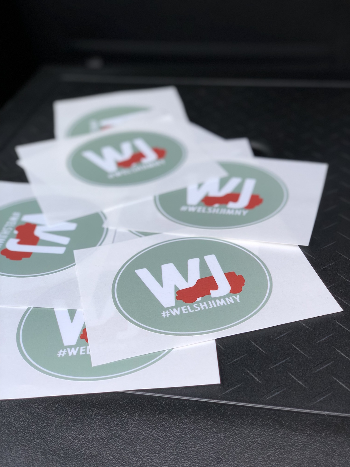 Welsh Jimny Stickers   £2 + shipping  - (currently out of stock)