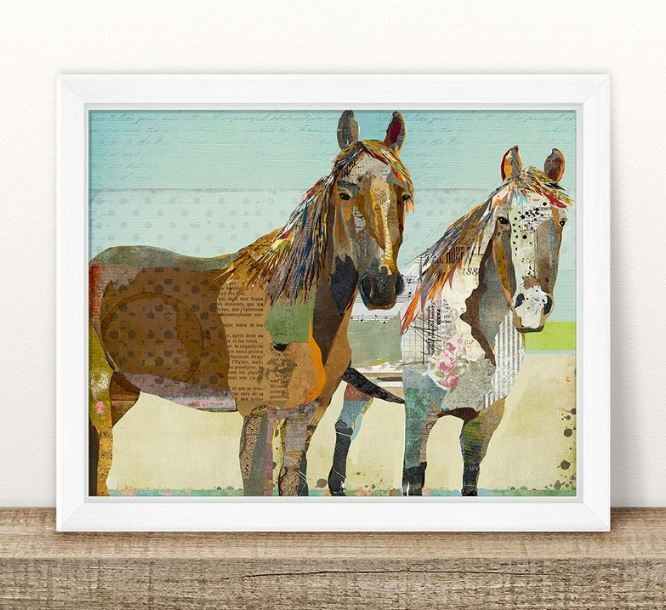 Horse Art Print by TraciWithaniDesigns