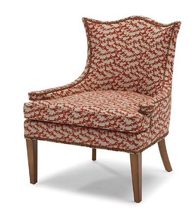 Massoud Furniture's Equestrian Print Chair.jpg