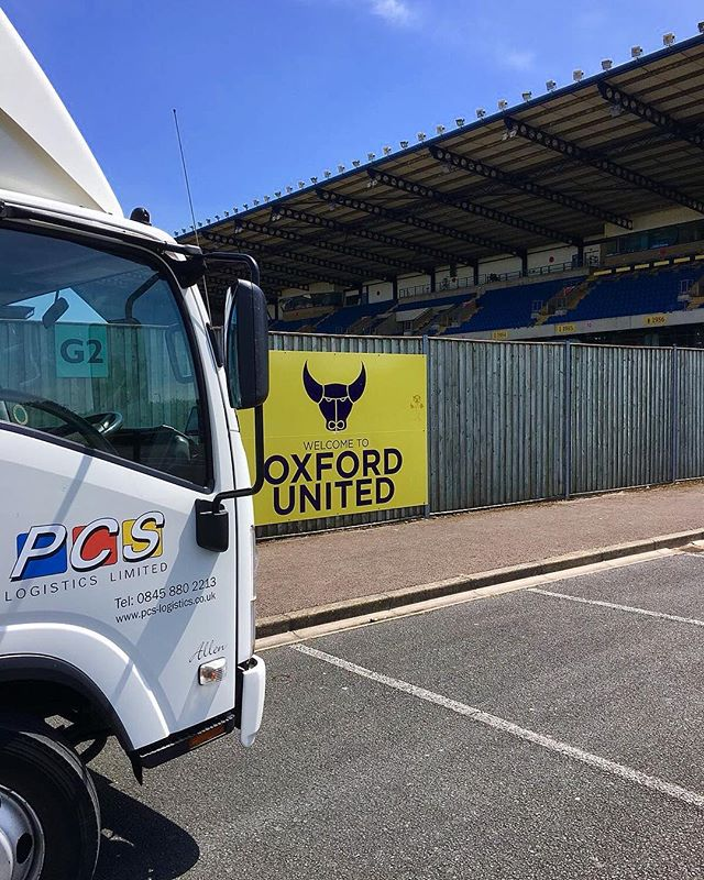 Oxford United Football Club ⚽️ . . 📸 @wayneellerby . . #logistics #logisticsmanagement #logisticscompany #logisticsteam #courier #delivery #oxford #oxfordunited #oxfordshire #instapicture #instapicoftheday #instagood #instagram #instapic