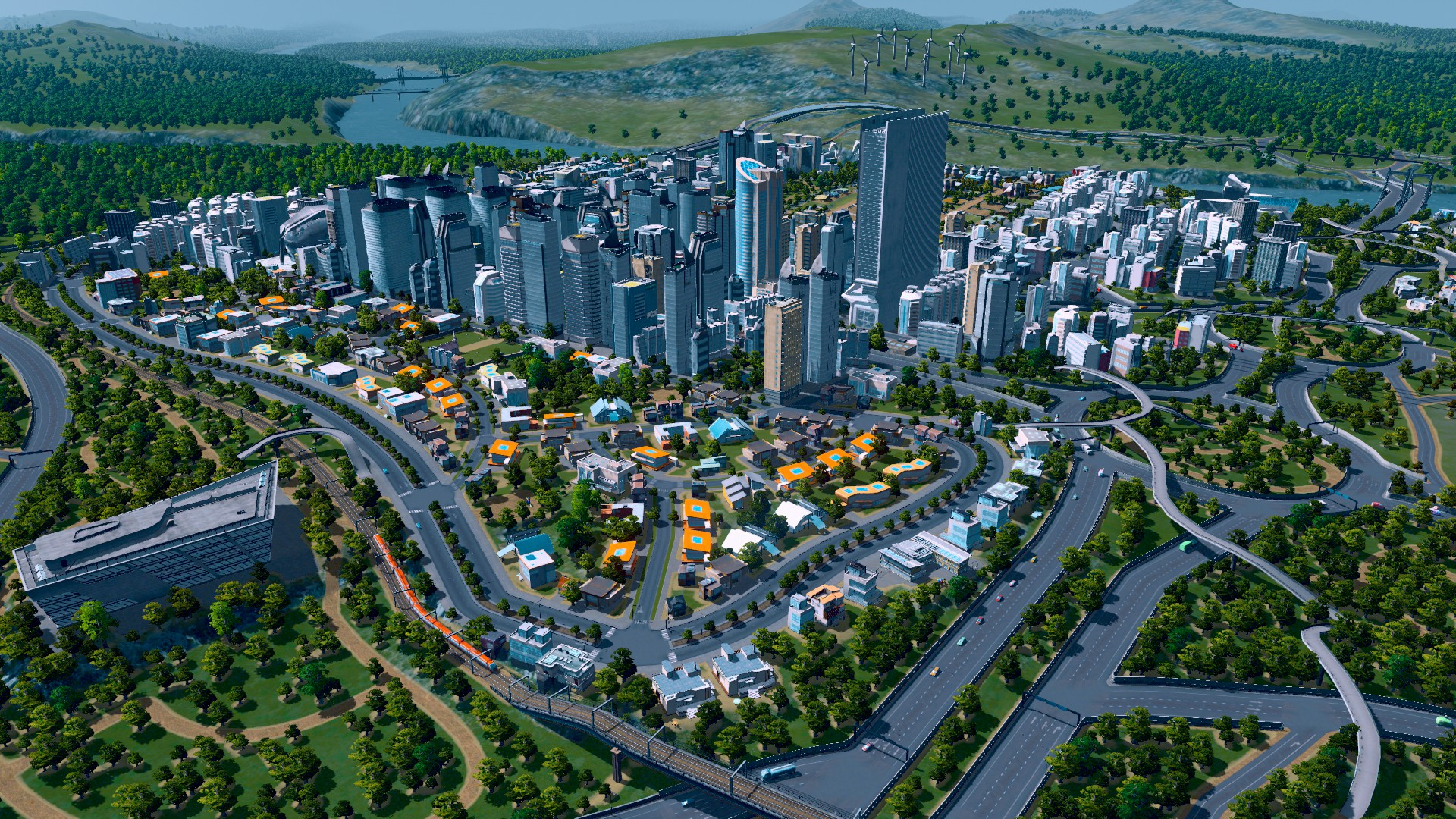 Cities: Skylines lets the player play God, if God were a civil servant or local councillor.