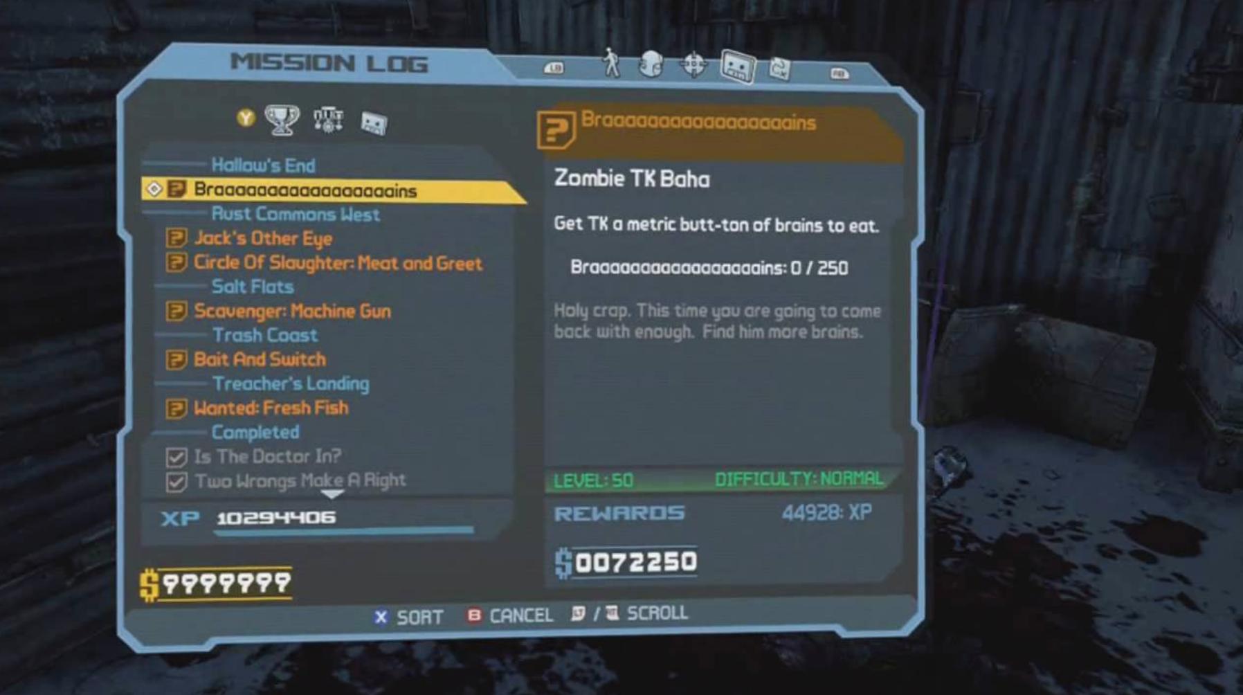 Ha… mission said Butt