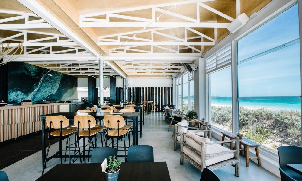 Coast Port Beach Fremantle Beach Restaurant Bar Venue Hire