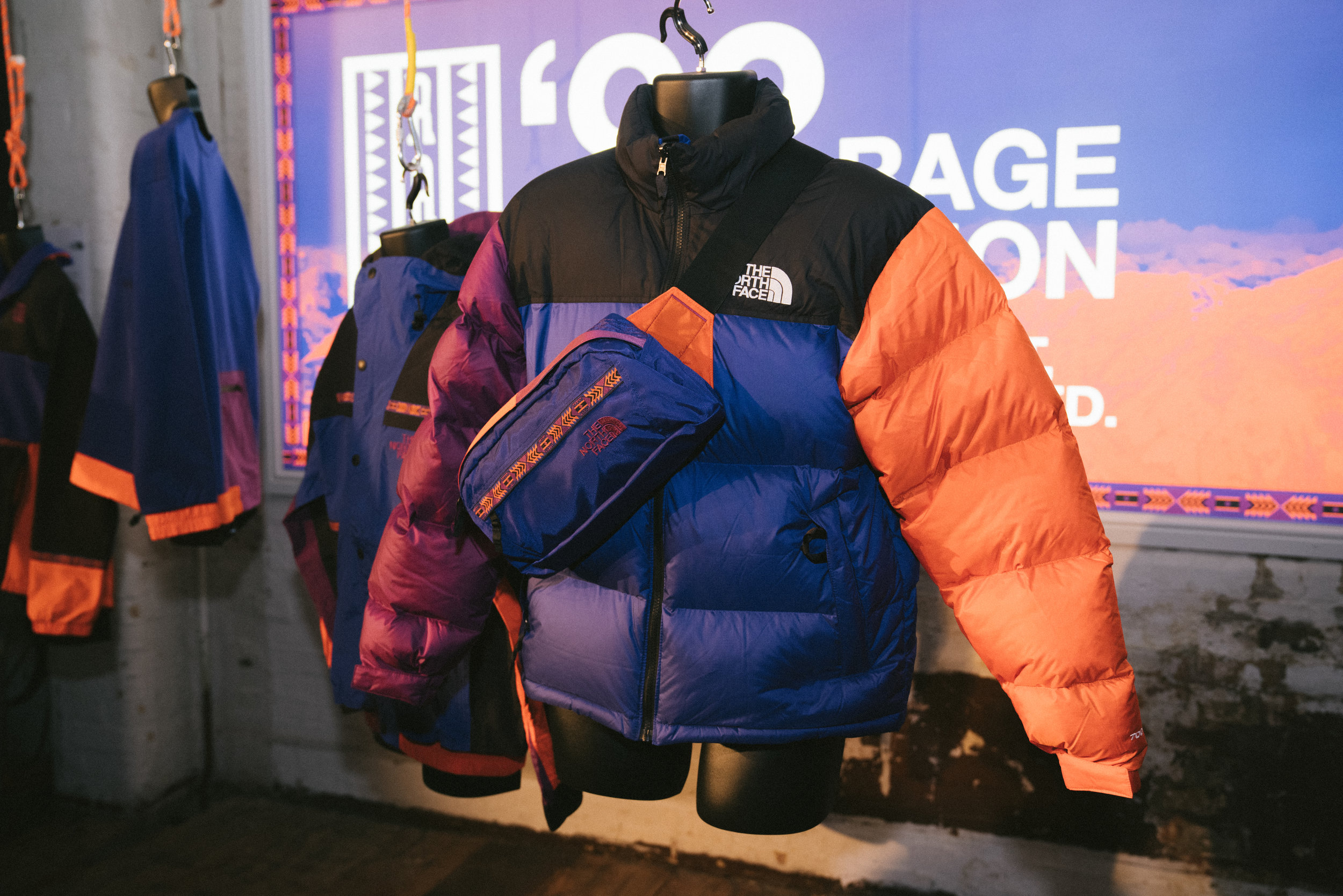 WHY - Urban Nerds was charged with launching the return of the seminal '92 Rage collection for iconic brand, The North Face, driving mass awareness amongst a streetwear and broader youth lifestyle consumer.