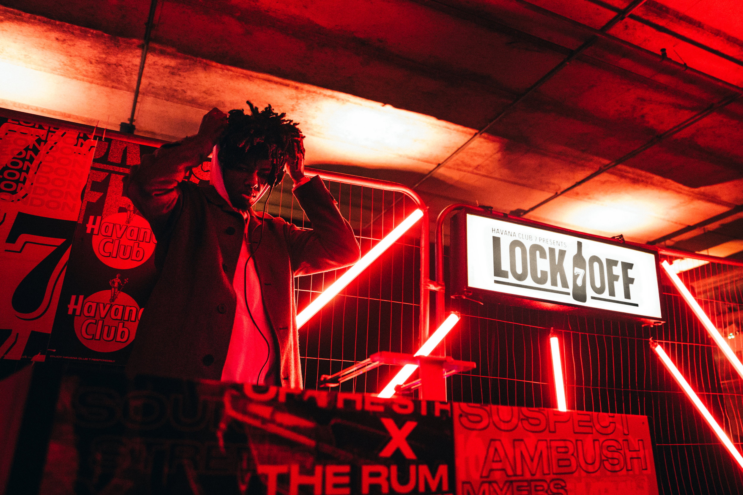 WHAT - Nerds developed and delivered Lock Off, an underground car park takeover event and creative content platform for the rum of the streets to authentically champion the sounds of the streets, from Cuba, to the UK and beyond.