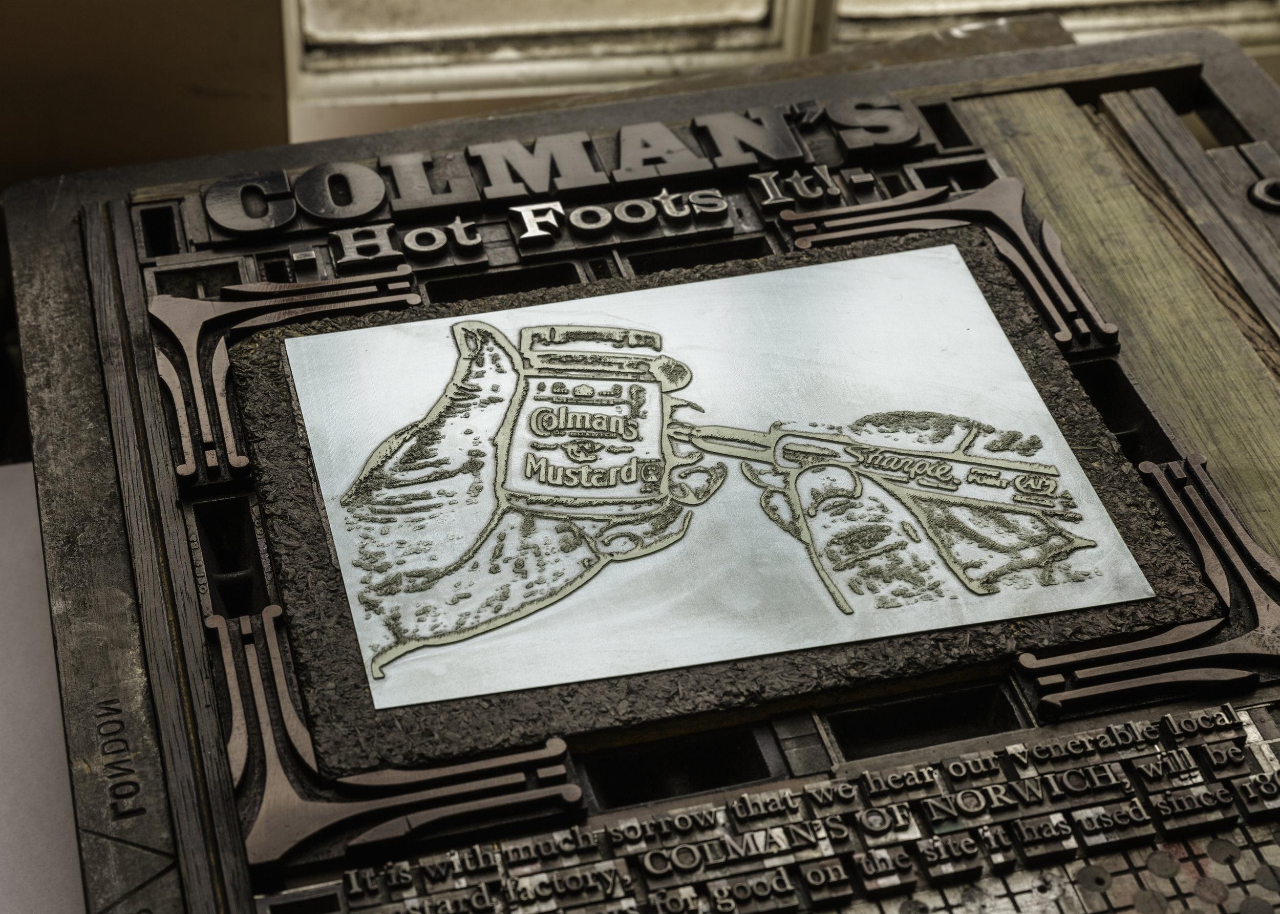 Colman Mustard - Jarrold Print Museum