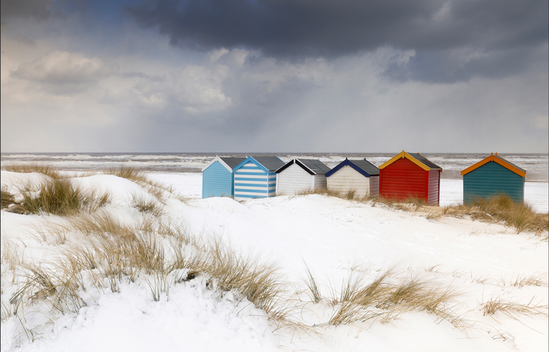 Snow in the Dunes - Justin Minns