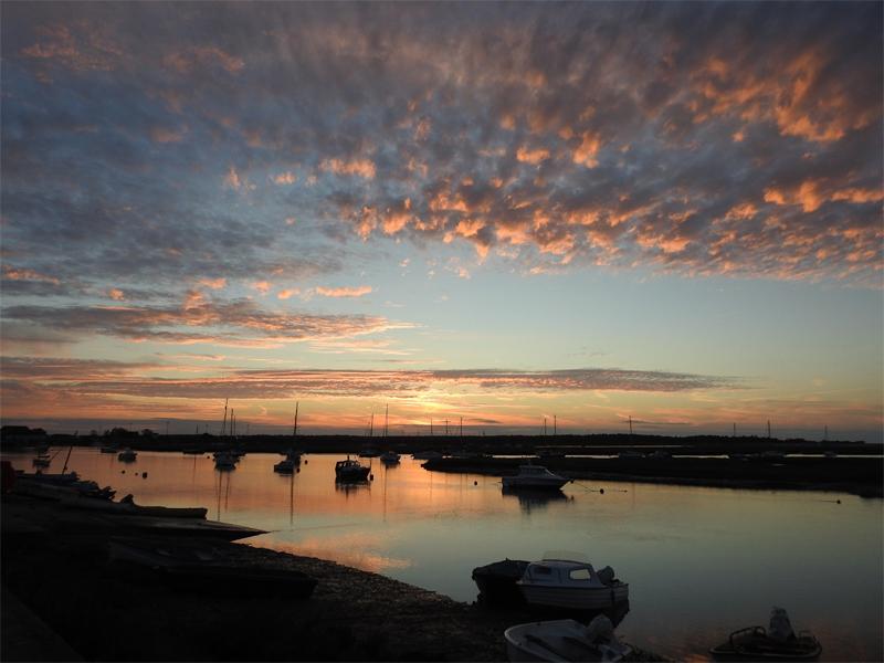 WELLS NEXT THE SEA SUNSET - Paul Reynolds