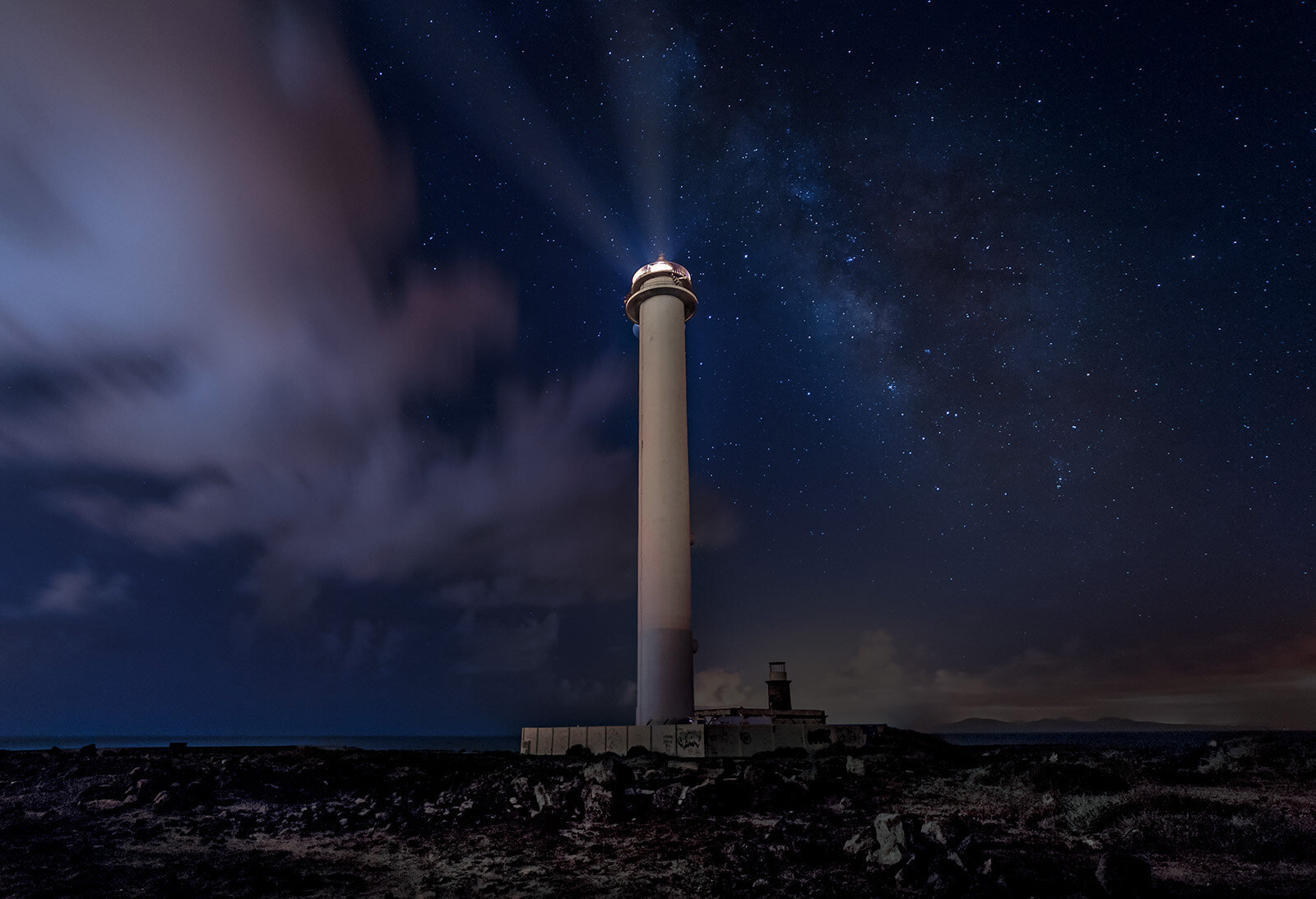 LIGHTHOUSE AT PECHIGUERA - Neil Hall (Best print in Class Two)