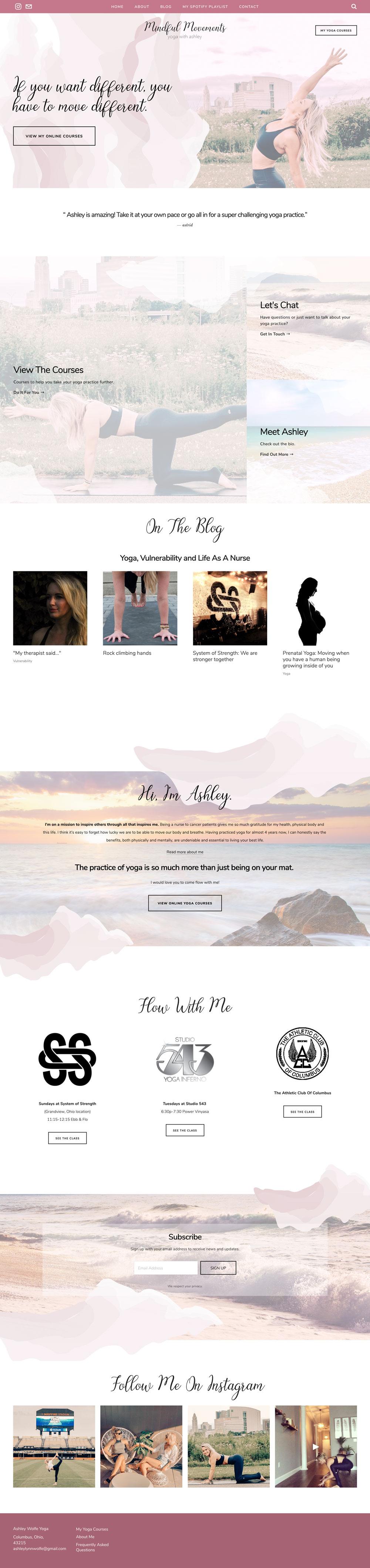 Ashley Lynn Wolfe Mindful Yoga