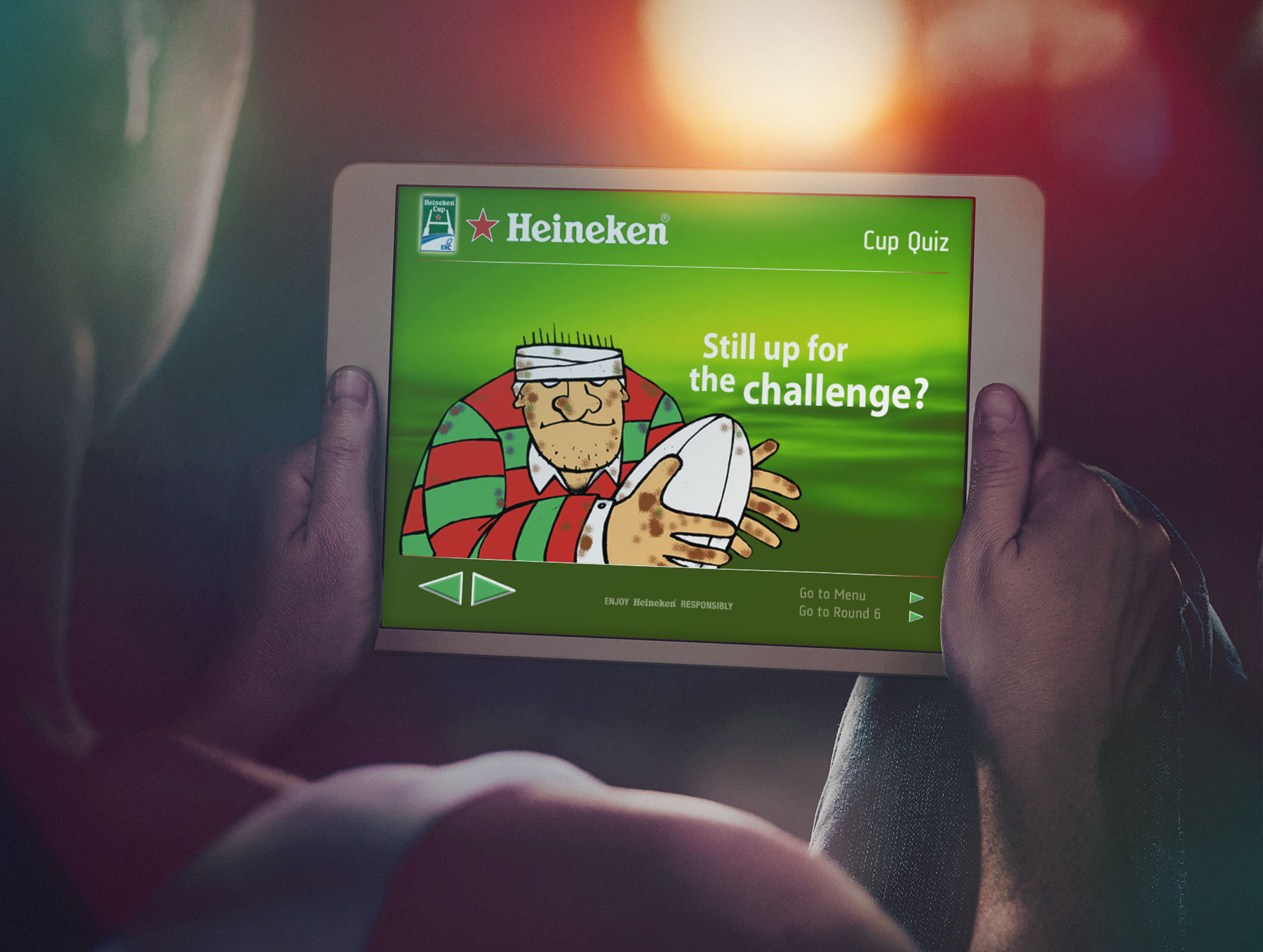 The European Rugby Champions Cup quiz for Heineken -
