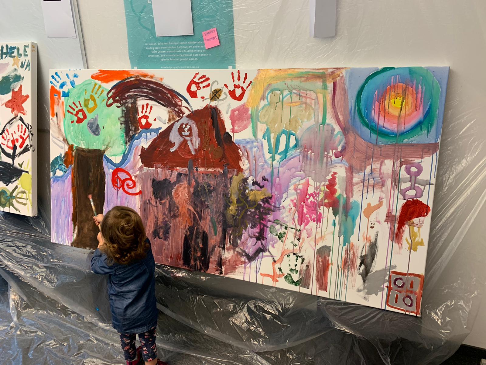 Kleine Menschen, große Kunstwerke
