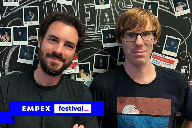 Julian Godesa & Ulf Biallas - (Software Engineers)@EMPEX festival