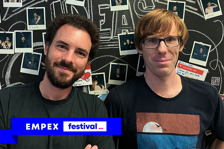 Julian Godesa & Ulf Biallas - (Software Engineers)@EMPEX festival