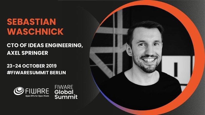 Sebastian Waschnick - (CTO)@Fiware Global Summit