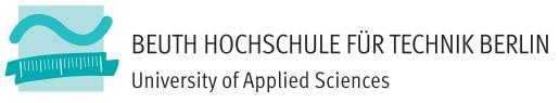 Sebastian Waschnick (CTO)    @Beuth Hochschule Berlin