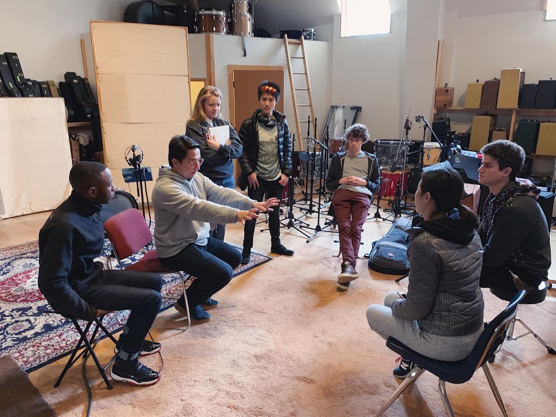Recording day! / Zdjęcie ze studia!