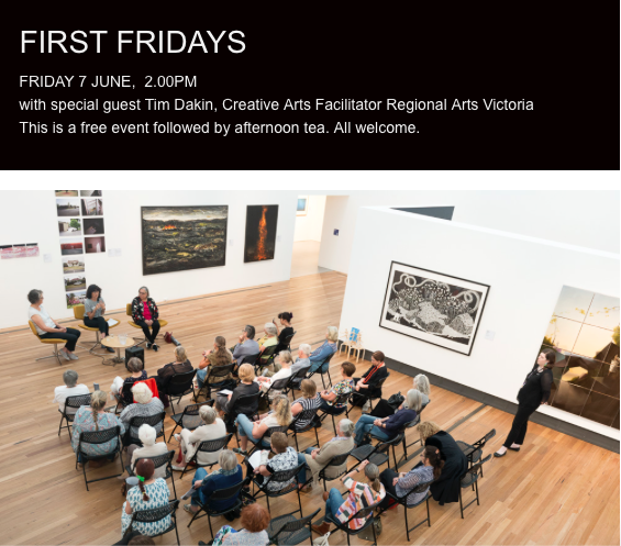 First Friday event held April 4, 2019.