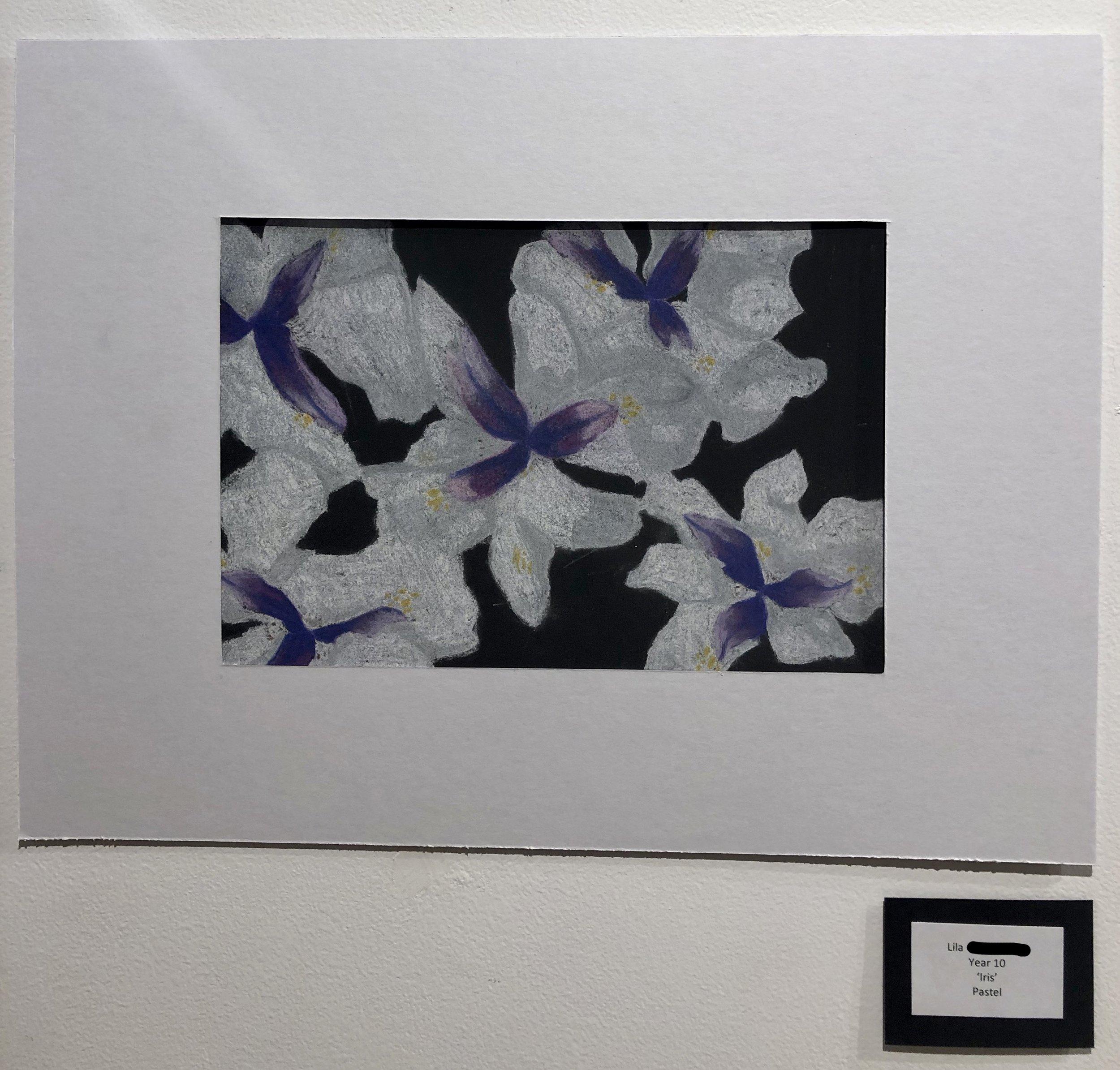 """Iris"" by Lila (Year 11)"