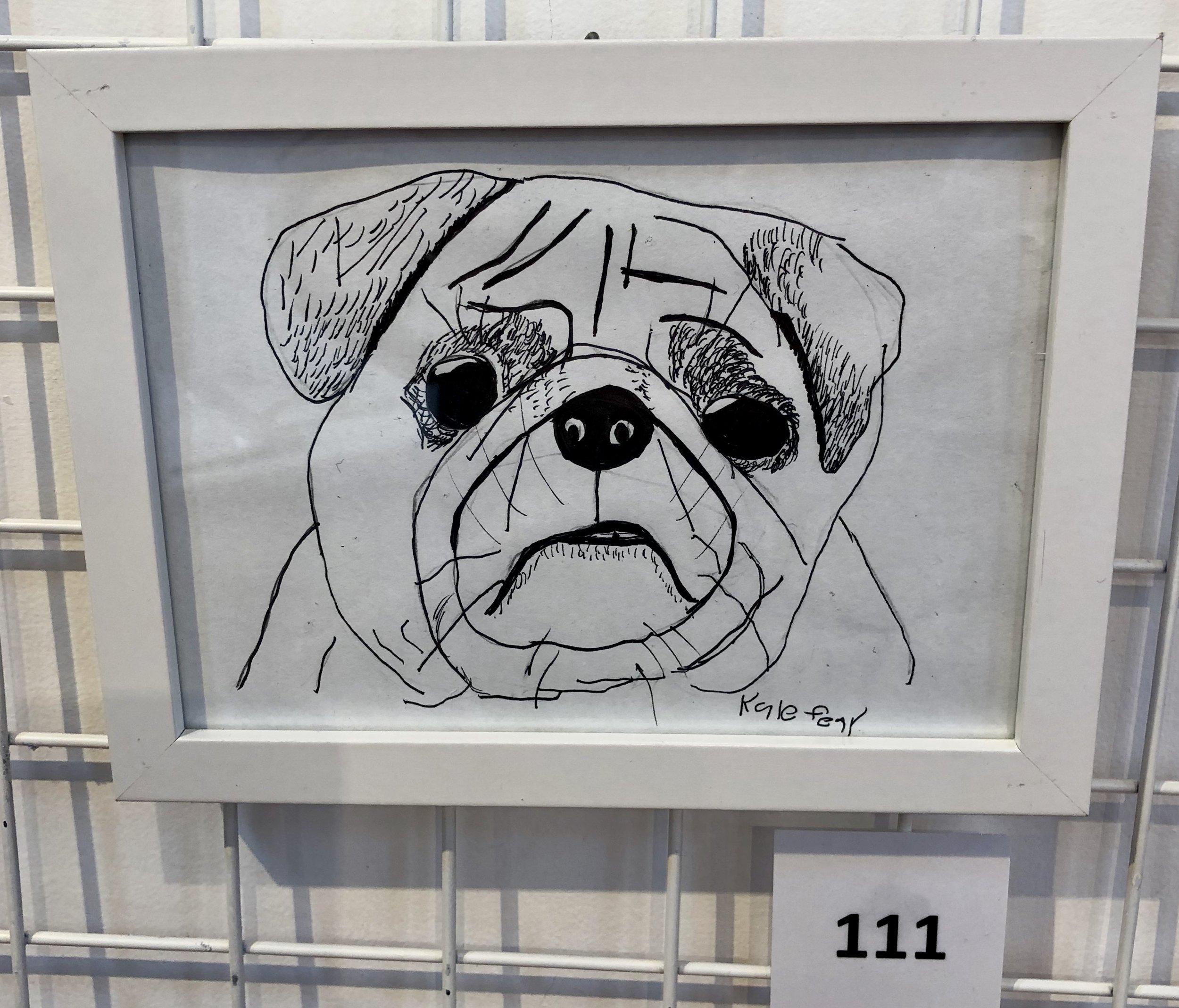 """""""Pug"""" by Kyle Fear"""