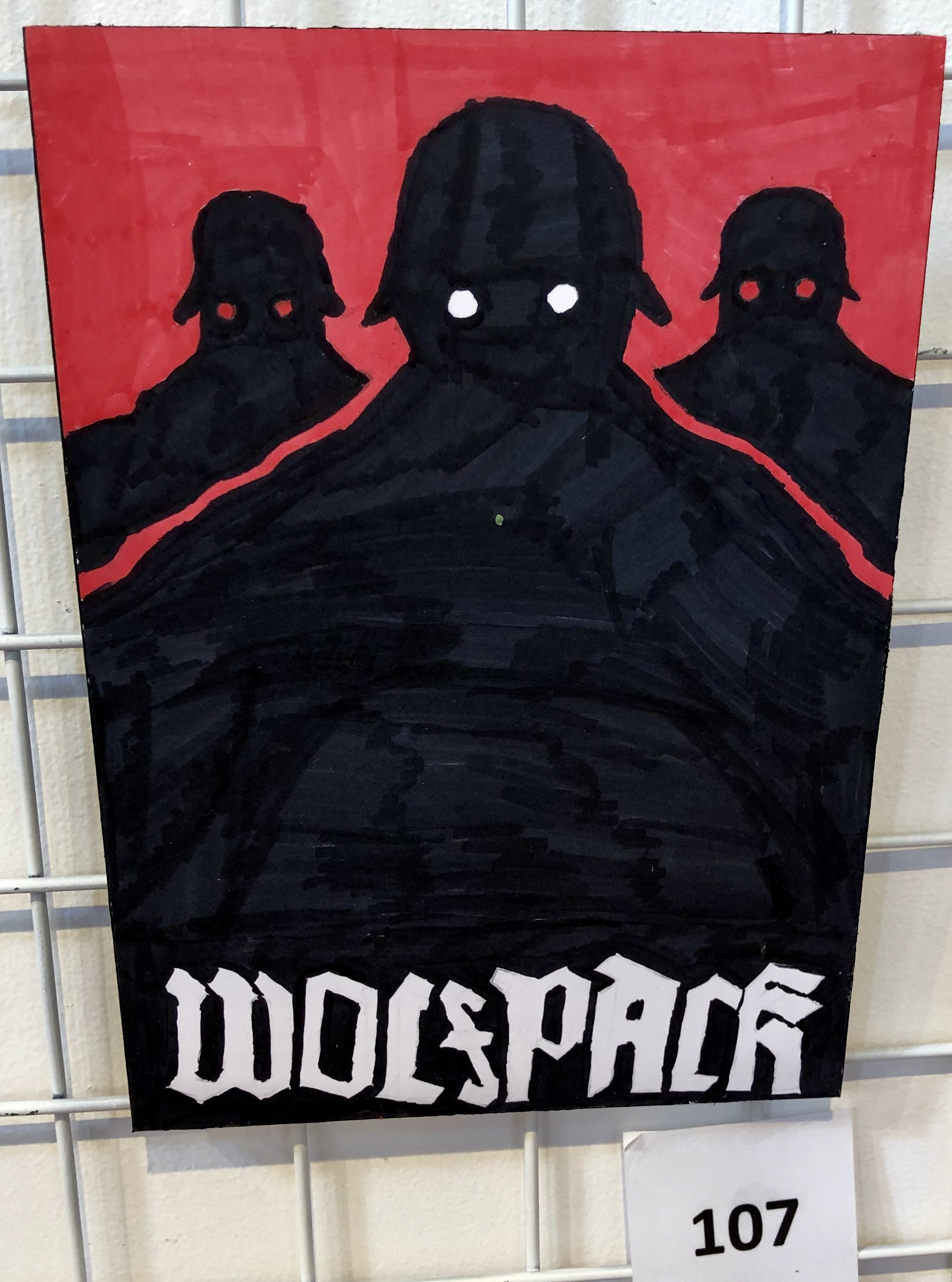 """""""Wolfpack"""" by Lachlan Grant"""