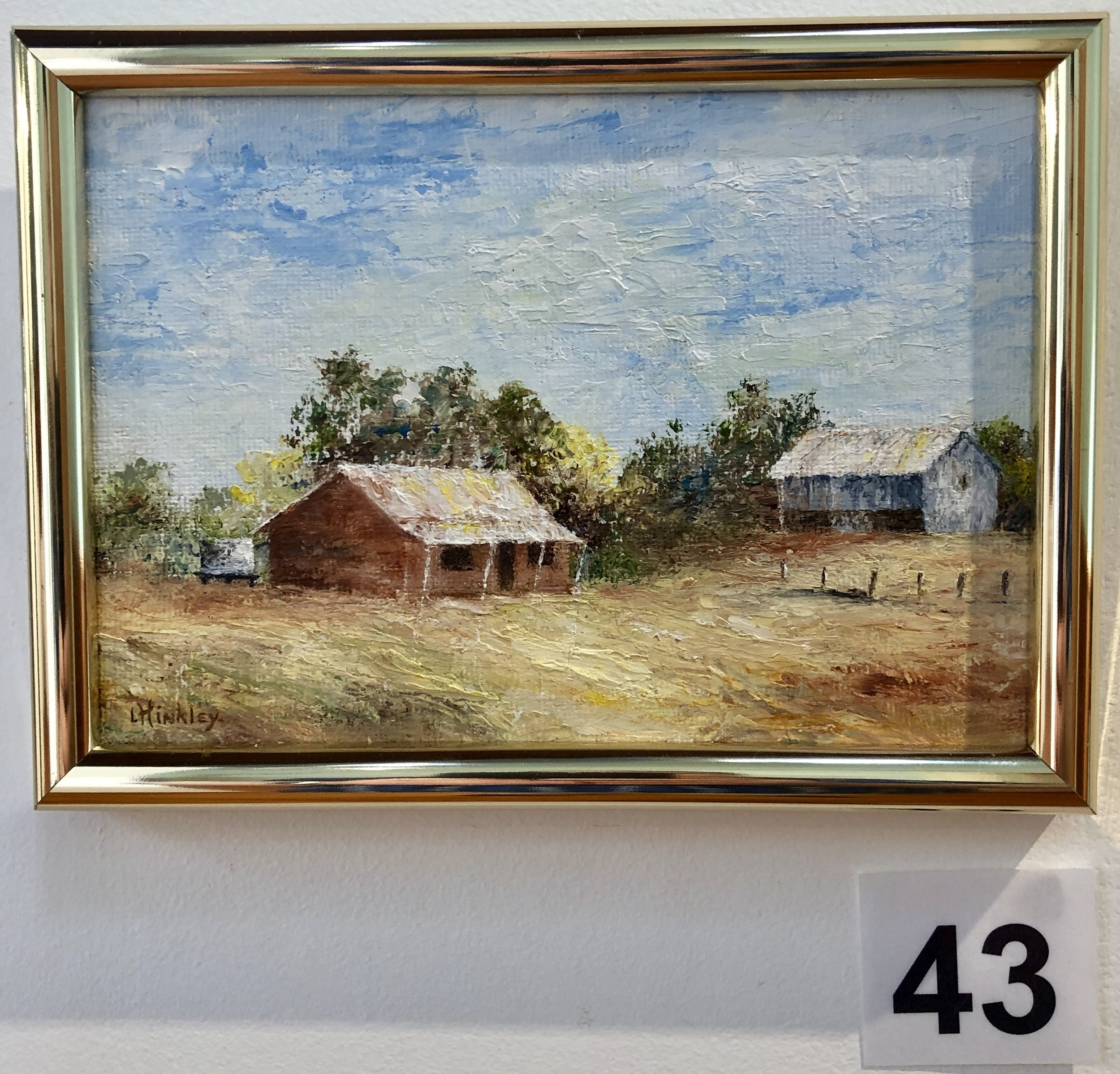 """Country scene"" by Ida Hinkley"