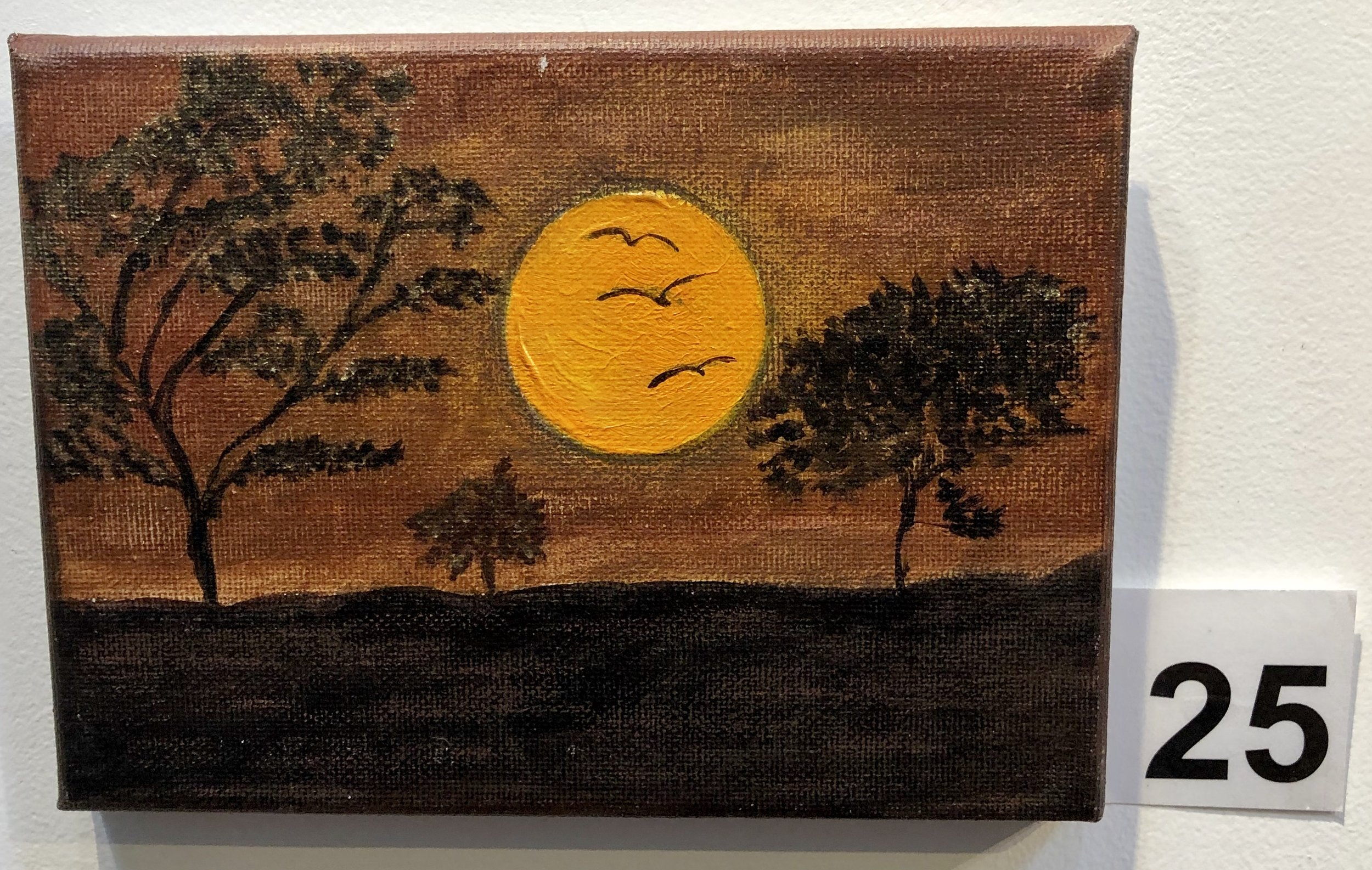 """Moonrise"" by Mary Montague"