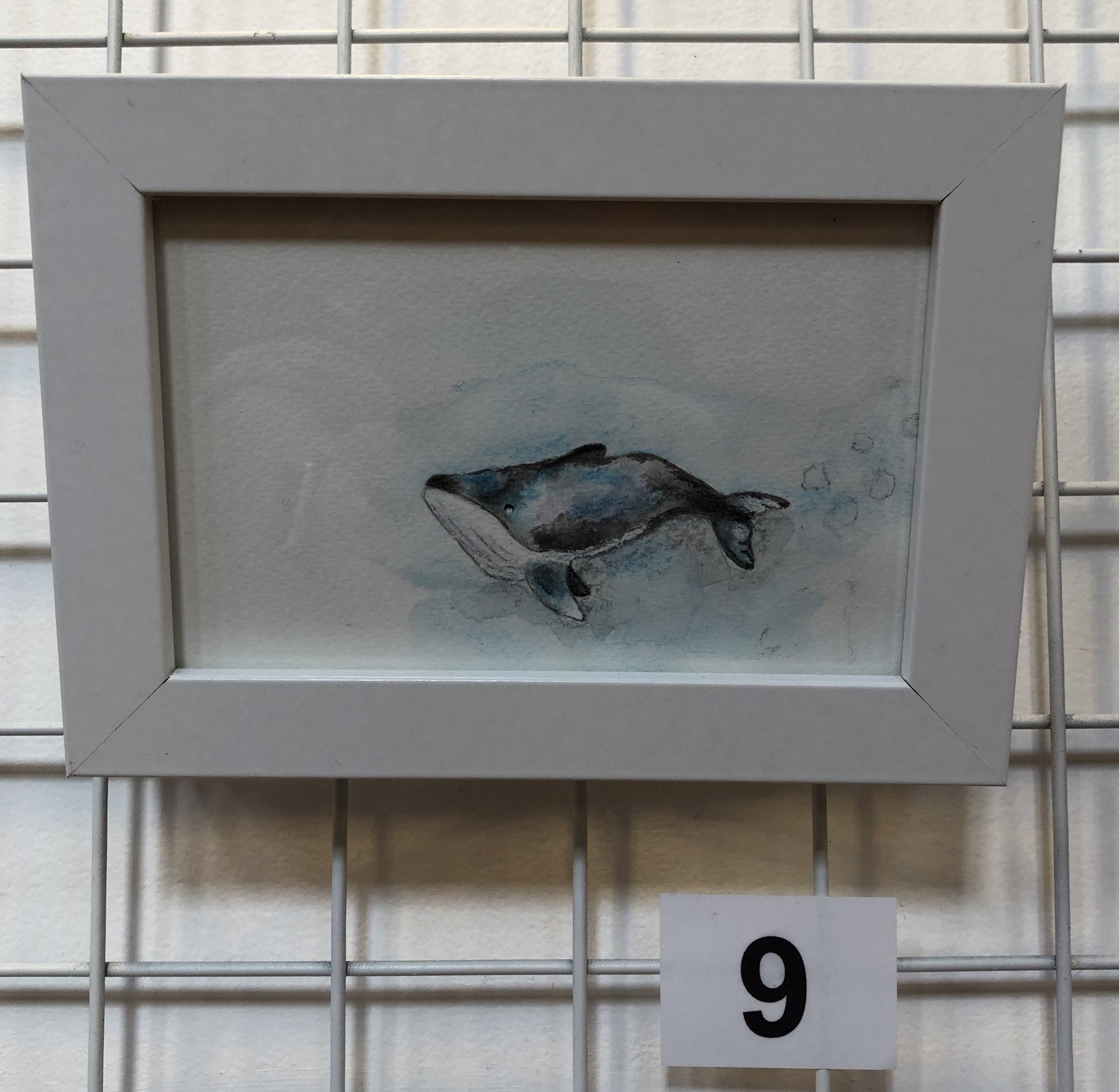 """""""Whale 1"""" by Maria King"""